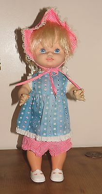 """1978 Mattel Baby Grows Up Doll 18"""""""