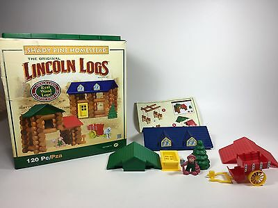 Lincoln Logs Shady Pine Homestead Play Building Set