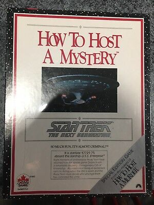 Brand New Star Trek The Next Generation How To Host A Murder Mystery Game
