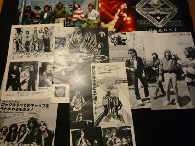 Journey-Clipping Late 70's& Early 80s  Japan Magazine