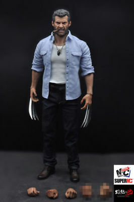 Burning Soul 1/6 Angry Wolverine Logan Figure Model 12'' Figure Toy in stock