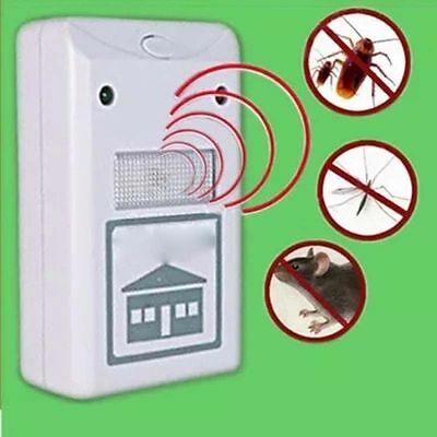 US Plug Riddex Plus Pest Repellent As Seen on TV Rodents Roaches Ants Spiders JM
