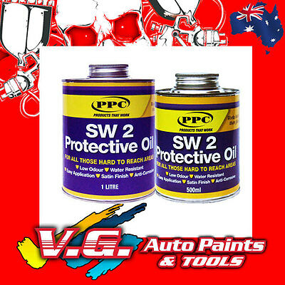 SW 2 Protective Coat Water Resistant Anti Corrosive rust protection 1L