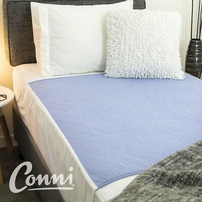 Conni Bed Pad with Tuck Ins (Kylie) Machine Washable Incontinence Pad
