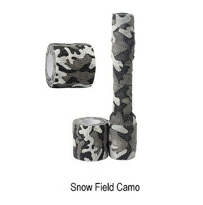 2pcs Waterproof Outdoor Camo Hiking Camping Hunting Camouflage Stealth Tape Wrap