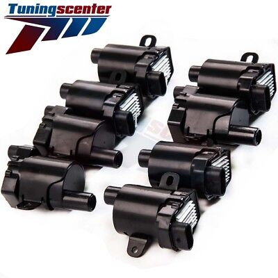 Set of 8 Ignition Coils (Round Type) for Chevrolet GMC for C1251 UF-262 D-585