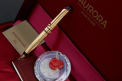AURORA OPTIMA COLOMBO 1492/1992-GOLD Filled 23kt-BALLPOINT-Lim. Ed. Numbered-NEW