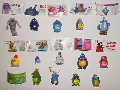 Mixed lot of Yowies figures with rares & limited editions
