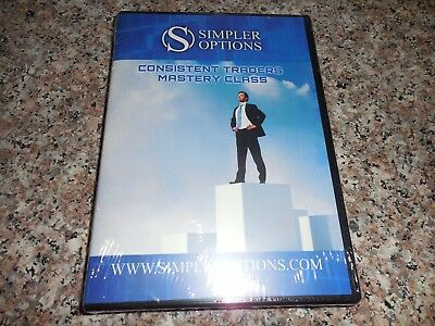 John Carter Simpler Options Consistent Traders Mastery Class Dvd Rom Wondows/Mac