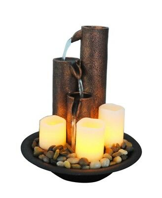 Candle Cascade Free Shipping | Water Feature | Fountain | New | Feng Shui