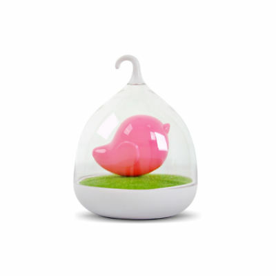 LED Birdcage Night Lamp For Kids Eye Protection Warm Feel Bedroom Touch Control