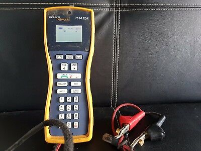 Fluke Networks TS54-A-09-TDR TS54 Pro ABN with Piercing Pin ISGM TANDEM TELSTRA