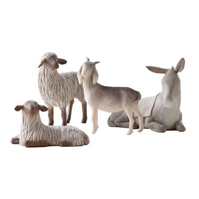 NEW Willow Tree Sheltering Animals For The Holy Family