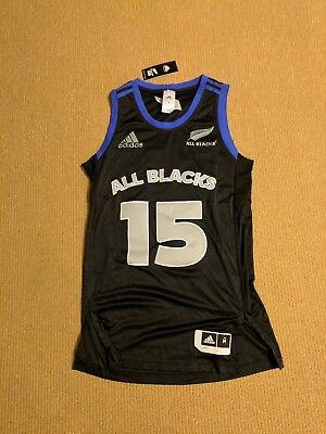 Adidas All Blacks Basketball Singlet Mens Size M Brand New with tags