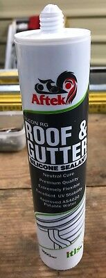 Silicone Sealant for Roofs and Gutters. 150+ Tubes