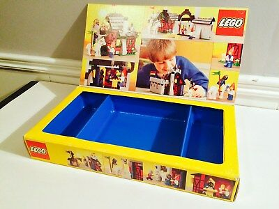 Scarce!!! 1986 Lego Castle 6067 *empty Box* For Guarded Inn Set Canadian Issue