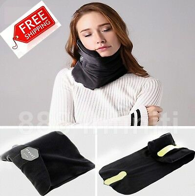 Allure Travel Pillow Airplane Inflatable Neck Pillow Super Soft Neck Support Tra