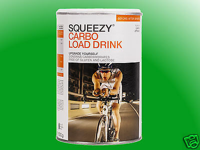 (16,00€/kg)   Squeezy Carbo Load Drink a 500g    *MHD 06/17*