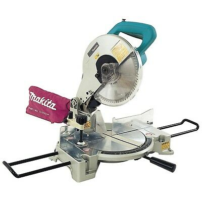 "MAKITA Pro 255mm (10"") 1650W Compound Mitre Saw Dust Extract Electric Brake"