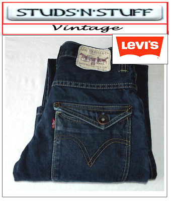 """Vintage Levis Red Tab Bootcut  Fit Jeans W28"""" L30"""" Aprox Size Uk 8 (T13)"""