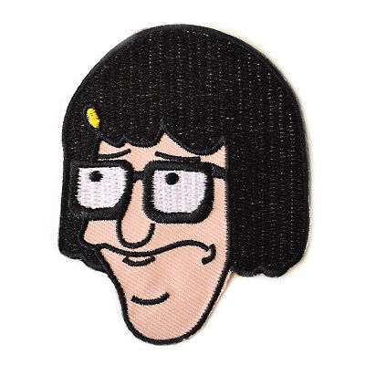 Tina Belcher Embroidered Iron On Patch Bob Burgers
