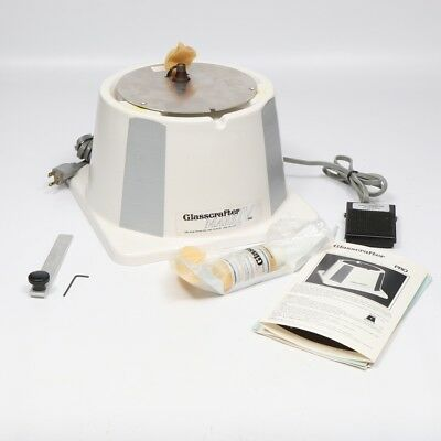 Glasscrafter Mark IV Pro Diamond Router Glass Grinder with Accessories - NEW
