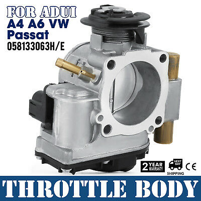 Throttle Body For Audi A4 A6 VW Passat 058133063 H/E 1.6 1.8 Cover Great Made