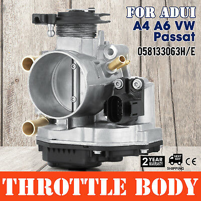 Throttle Body For Audi A4 A6 VW Passat 058133063 H/E 1.6 1.8 Cover Sell OEM