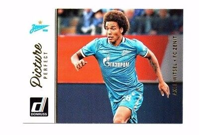 Axel Witsel 2016-17 Panini Donruss, Picture Perfect !!