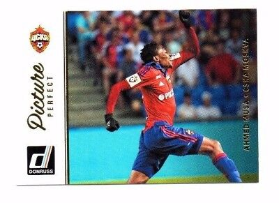 Ahmed Musa 2016-17 Panini Donruss, Picture Perfect !!