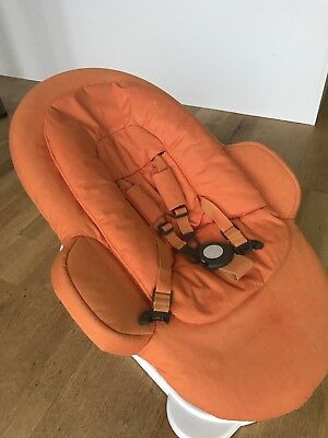 Fab condition - Orange Stokke Baby Bouncer