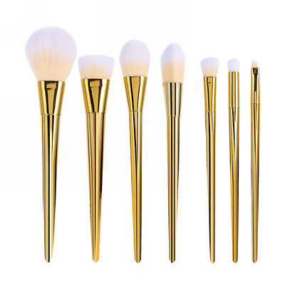 Lot 7pcs Soft Makeup Brushes Set Powder Foundation Eyeshadow Brush Tool Fashion