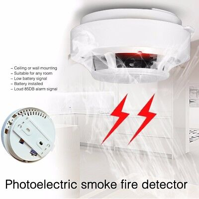 Brand NEW Wireless Smoke Detector Fire Alarm Sensor System Ionisation UK Seller