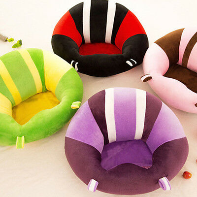 6 Colors Cotton Baby Support Seat Soft Chair Car Cushion Sofa Plush Pillow 45*45