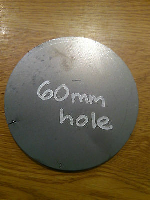 148x10 Round Disc Circle Mild Steel With 60mm Hole