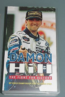 VHS video tape - DAMON HILL - THE FIGHT FOR VICTORY F1 WORLD CHAMPIONSHIP