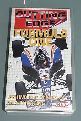 VHS video tape - CUTTING EDGE FORMULA ONE - BEHIND THE SCENES OF 90's F1 RACING