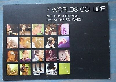 11 Neil Finn or Crowded House postcards