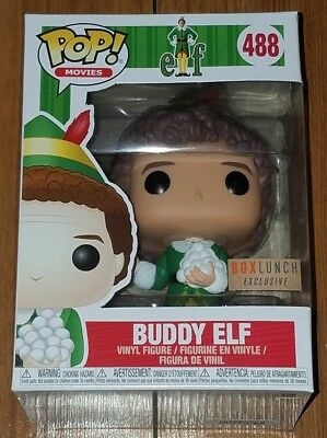 Funko Pop Movies #488 Buddy Elf with Snowballs Box Lunch Exclusive