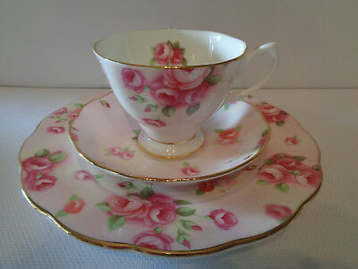 Royal Albert Trio - ***Rose Blush*** From 100 Year Celebration Series