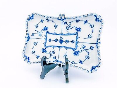 Serving Tray #1195 - Blue Fluted - Royal Copenhagen - Full Lace- 1st Quality