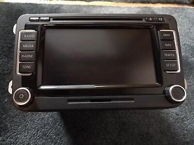 VW RNS510 Sat Nav Led Version rns 510 golf passat jetta beetle navigation