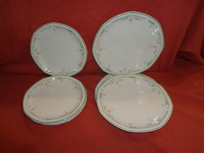 Royal Doulton  Caprice  Side Plate X 6 Salad Plate X 3