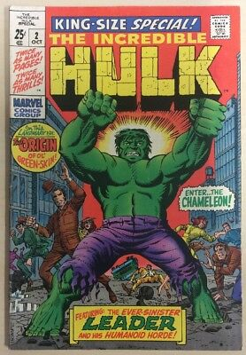 Incredible Hulk King Size Special #2 (1969)