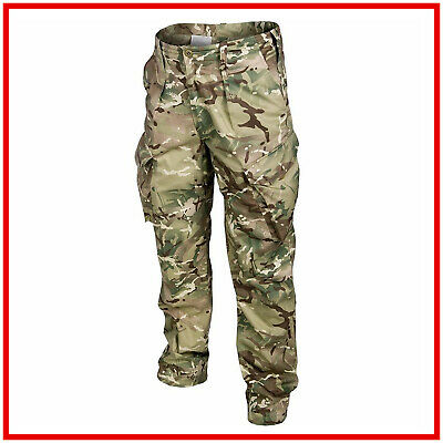British Army Pants Surplus PCS MTP Multicam Military Combat Trousers Temperate