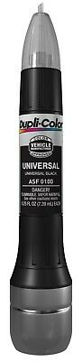 Dupli-Color ASF0100 Universal Black Exact-Match Scratch Fix All-in-1 Touch-Up Pa