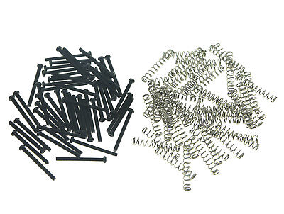 50 Imperial Size Humbucker Pickup Height Screws Pickup Springs for Gibson/EMG