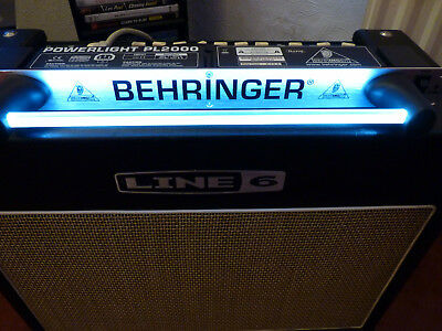 Behringer Powerlight PL2000 Racklight with 8 iec power outputs