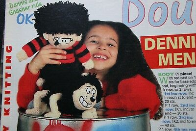 Alan Dart - Dennis the Menace and Gnasher toys to knit