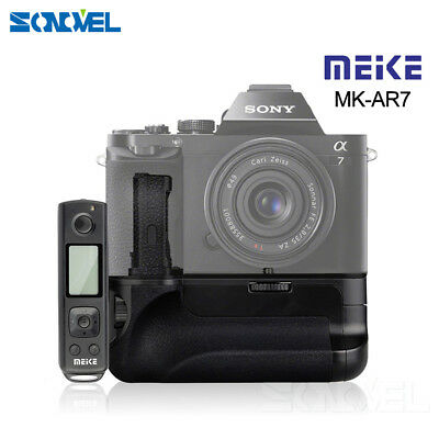 Meike MK-AR7 Built-in 2.4g Wireless Remote Control Battery Grip for Sony A7 A7RS